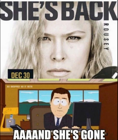 rousey-is-back-and-gone