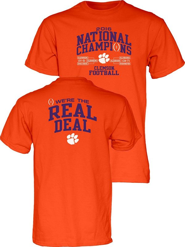 48f74e0e9 19 Coolest Clemson Tigers 2016 College Football Champions Items ...
