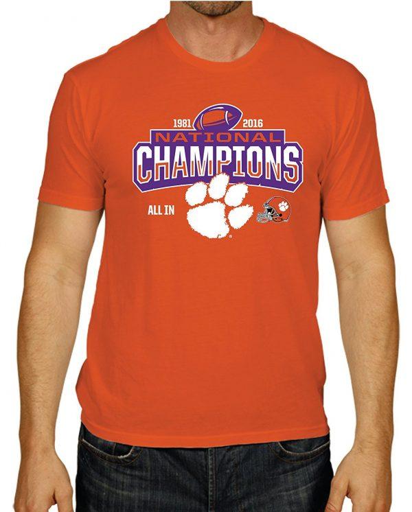 Clemson 2017 National Champions T-Shirt