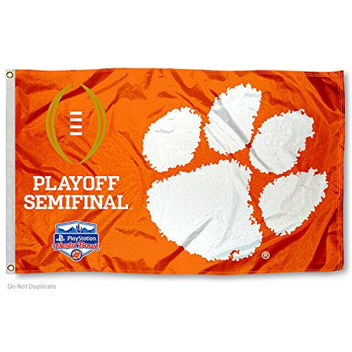 Clemson Playoff Flag