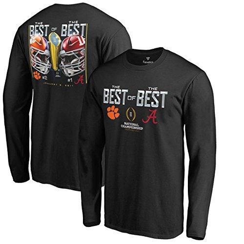 Clemson vs Alabama Long Sleeve T-Shirts