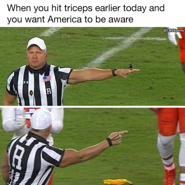 Muscle Ref e1484075088959 18 best memes of clemson stunning alabama in the college football