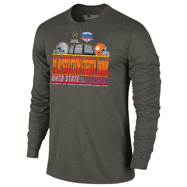Ohio State vs Clemson Fiesta Bowl Long Sleeve T-SHirt