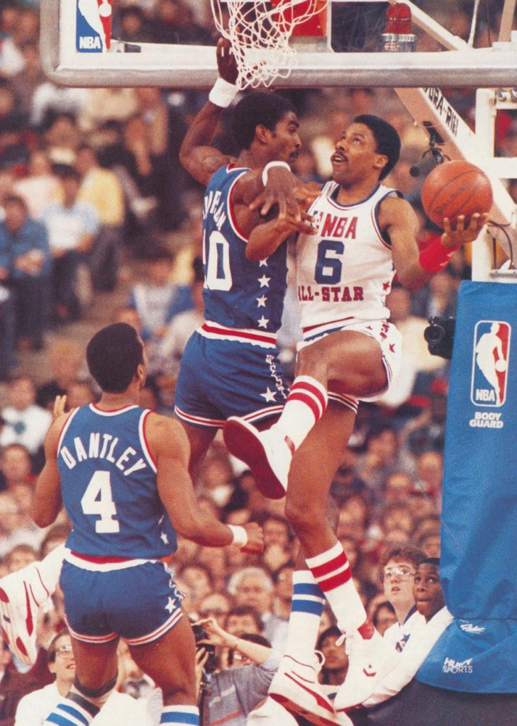 Dr. J in the Air