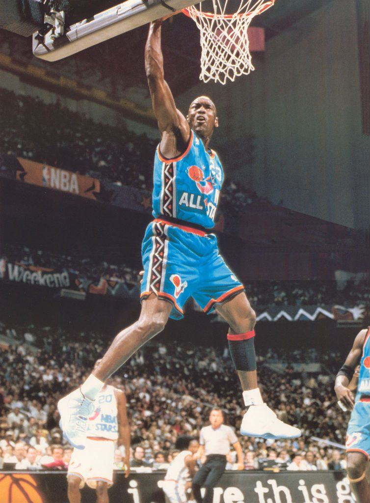 Michael Jordan All-Star Dunk