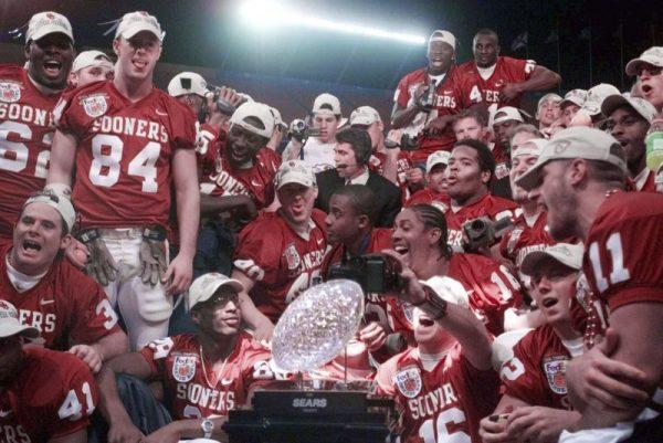 Sooners National Champions 2000