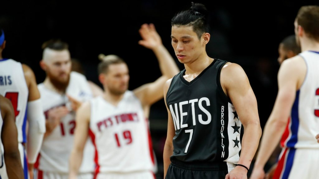Disappointed Jeremy Lin