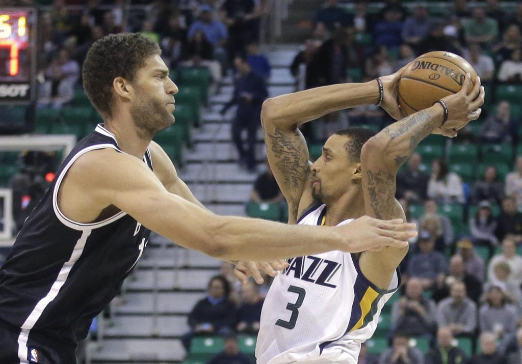 George Hill, Brook Lopez
