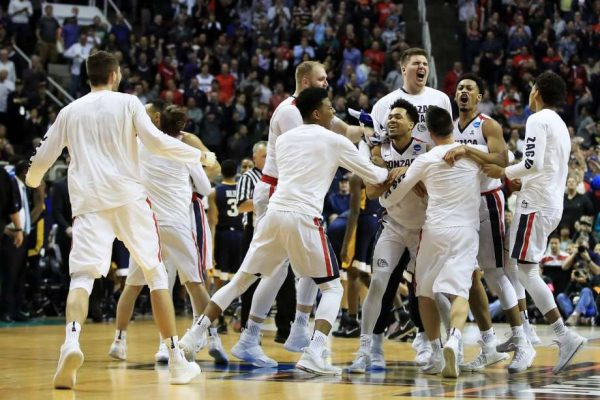 Gonzaga beat West Virginia