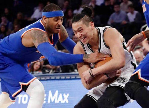 Jeremy Lin, Carmelo Anthony
