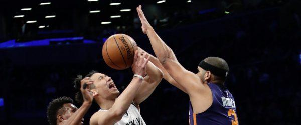 Jeremy Lin Fouled
