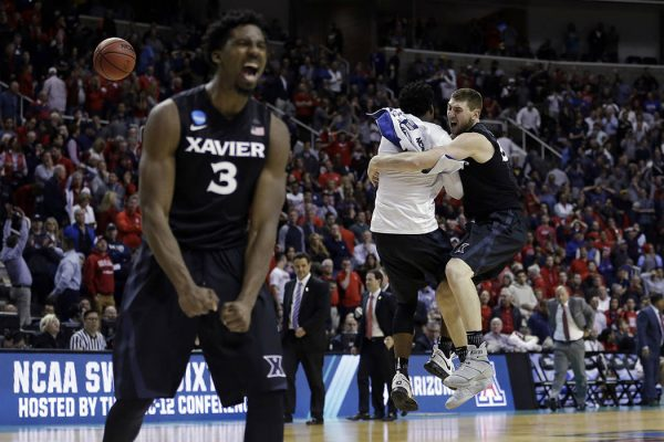 Xavier beat Arizona