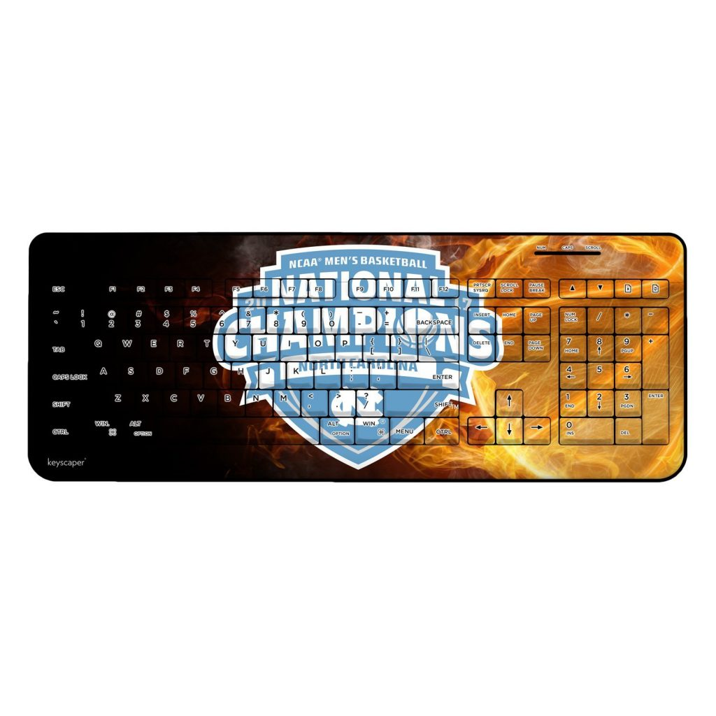 2017 North Carolina National Champions Keyboard