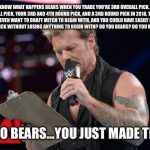 Bears made the list