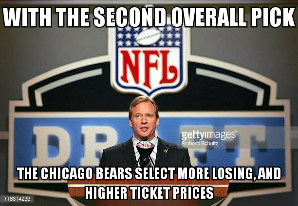 Bears select more losing and higher prices
