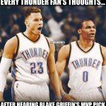 Blake Griffin leaving Meme