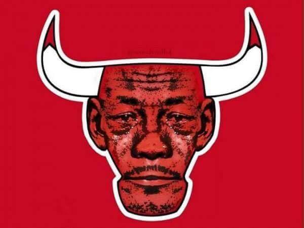 Bulls Logo Crying jordan
