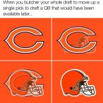 Chicago Bears Cleveland Browns Draft Night