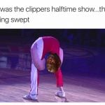 Clippers halftime show
