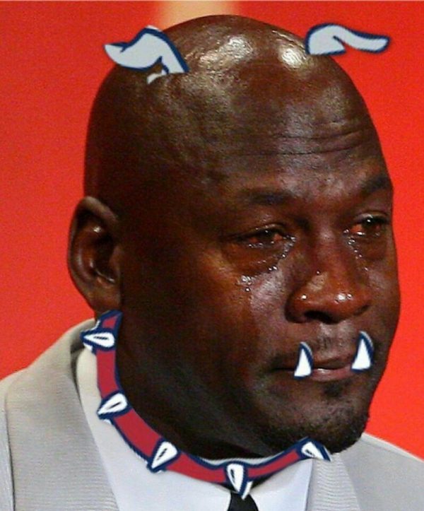 Crying Jordan Gonzaga Bulldogs Mascot