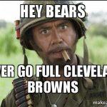 Don't go full Browns