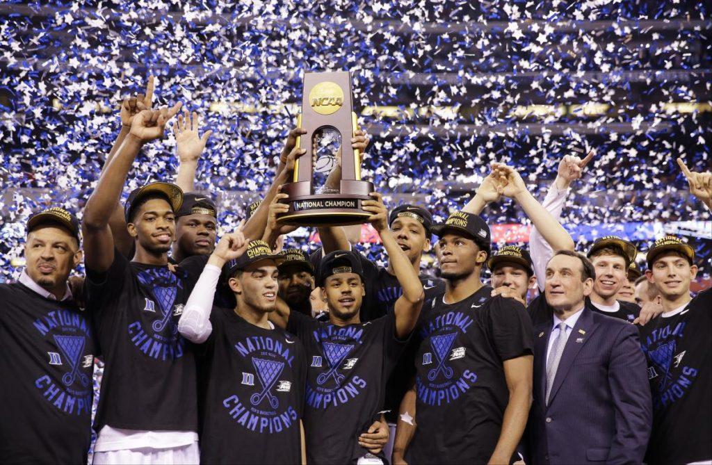 Duke 2015 Champions