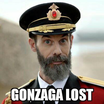 Gonzaga Lost Meme