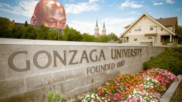 Gonzaga University Crying Jordan