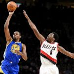 Kevin Durant, Blazers