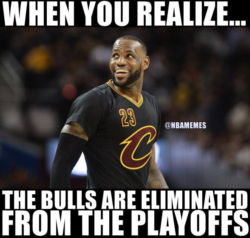 LeBron Happy the Bulls Aren't Next