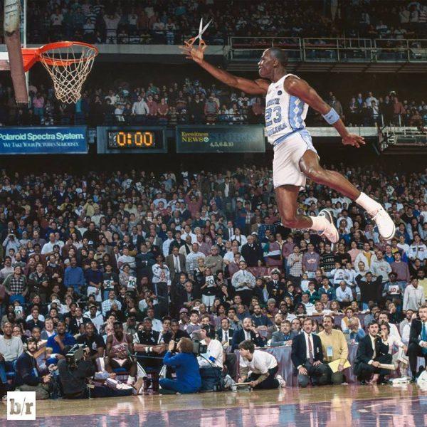Michael Jordan UNC Scissors