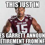 Myles Garrett Retires Meme
