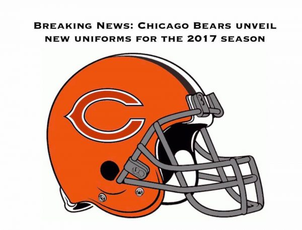 New 2017 Bears Helmets