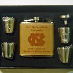 North Carolina Tar Heels 2017 NCAA Champions Flask