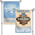 North Carolina Tar Heels 2017 NCAA Champions Garden Flag