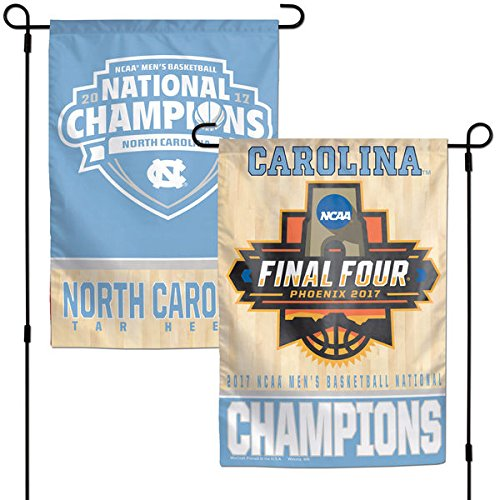 North Carolina Tar Heels 2017 NCAA Champions Garden Flag