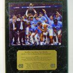 North Carolina Tar Heels 2017 NCAA Champions Plaque