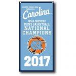 North Carolina Tar Heels 2017 NCAA Champions Vertical Banner