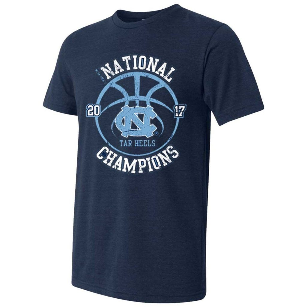 North Carolina Tar Heels 2017 National Champions T-Shirt