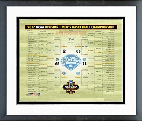 North Carolina Tar Heels 2017 National Championship Bracket Photo