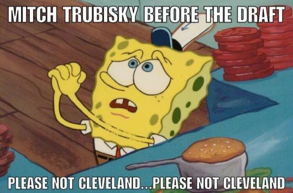 Please not Cleveland