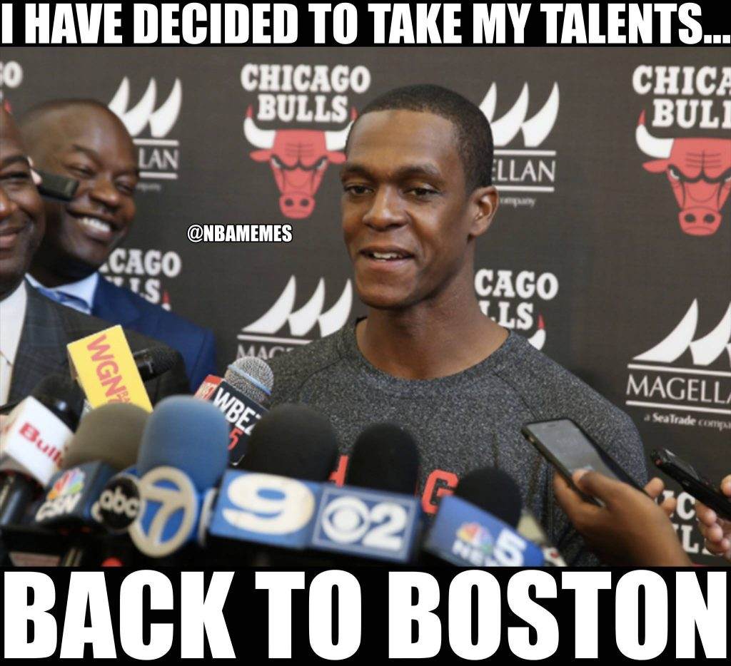 Rajon Rondo Talents Back to Boston