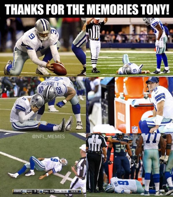 Romo tripping retirement announcement