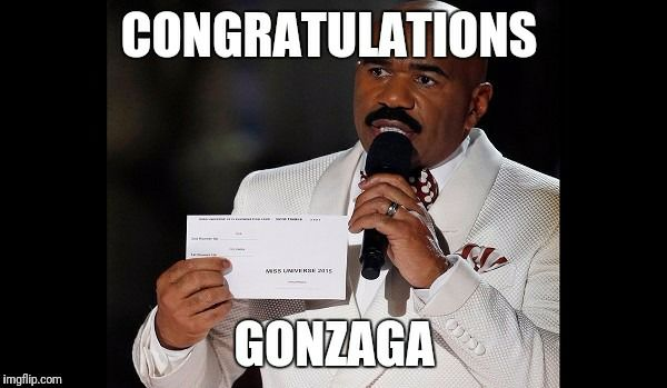 Steve Harvey Gonzaga