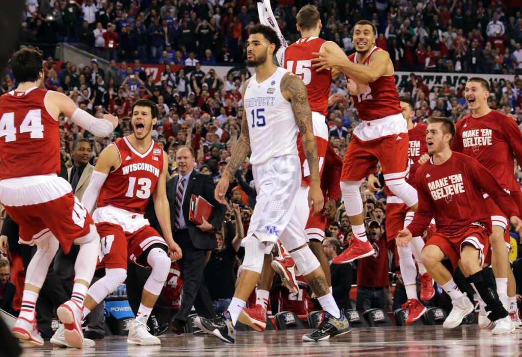 Wisconsin beat Kentucky