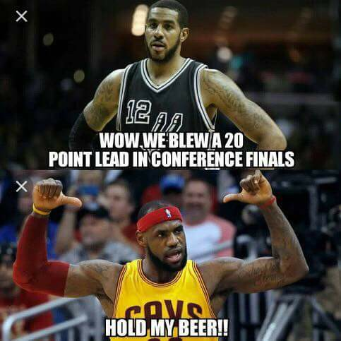 Aldridge LeBron hold my beer
