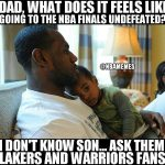 As Lakers and Warriors fans