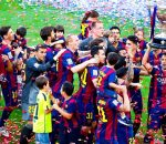 Barcelona 2015 La Liga Champions