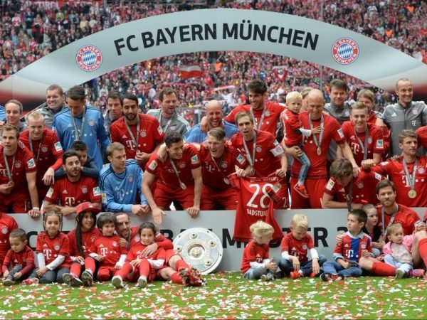 Bayern Munich 2016 Champions