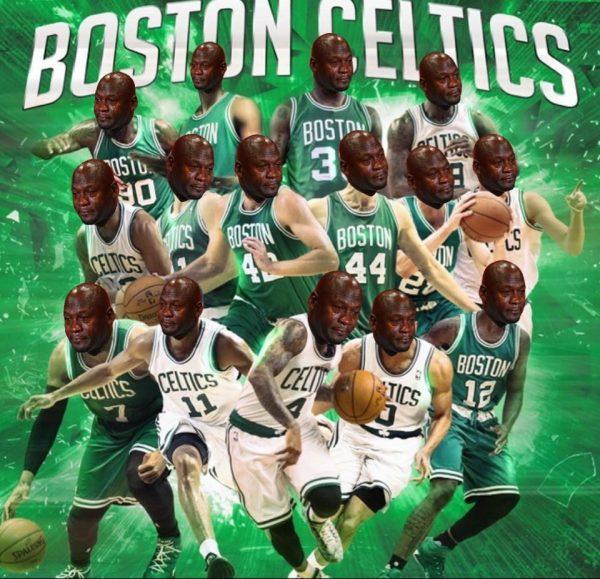 Boston Celtics Crying Jordan
